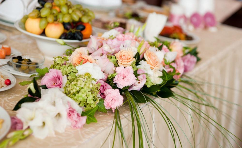 Цветы для молодоженов своими руками